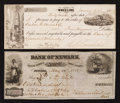 Miscellaneous:Other, Two Mid-Nineteenth Century Checks.. ... (Total: 2 notes)