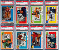 Football Cards:Sets, 1955 Topps All-American Football Complete Set (100). ...