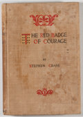 Books:Literature Pre-1900, Stephen Crane. The Red Badge of Courage. New York: Appleton,1895. First edition, second printing with this title li...