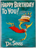 Books:Children's Books, Dr. Seuss. Happy Birthday to You! New York: Random House,[1959]. First edition, later printing. Quarto. Publisher's...