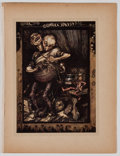 Antiques:Posters & Prints, Lot of 6 Vintage Arthur Rackham Color Illustrations. From Arthur Rackham's Book of Pictures, New York: The Century Compa...