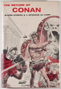 Books:Science Fiction & Fantasy, Bjorn Nyberg. The Return of Conan. New York: Gnome, 1957. First edition, first printing. Octavo. 191 pages. Publishe...