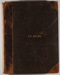 Books:Periodicals, Puck. Bound Volume of Issues from July 2, 1884 to July 22, 1885 including Volume XV-XVII. Numbers 382-437....