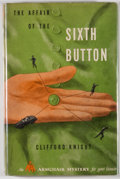 Books:Mystery & Detective Fiction, Clifford Knight. The Affair of the Sixth Button.Philadelphia: David McKay, [1947]. First edition, first printing.O...