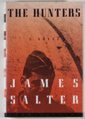 Books:Americana & American History, James Salter. SIGNED. The Hunters. Washington: Counterpoint,[1997]. Later edition, first printing. Signed by Salt...