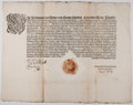 Antiques:Posters & Prints, [Ferdinand III, Holy Roman Emperor, King of Germany, King of Hungary, and King of Bohemia]. Printed Edict. One page, 20 inch...