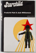 Books:Science Fiction & Fantasy, [JERRY WEIST COLLECTION]. Frederik Pohl and Jack Williamson. INSCRIBED BY BOTH AUTHORS. Starchild. London: Dobson, [...