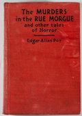 Books:Horror & Supernatural, [JERRY WEIST COLLECTION]. Edgar Allan Poe. The Murders in the Rue Morgue. New York: Grosset & Dunlap. Photoplay edit...