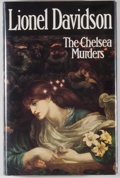 Books:Mystery & Detective Fiction, Lionel Davidson. The Chelsea Murders. London: Jonathan Cape,[1978]. First edition. Octavo. 236 pages. Publisher's b...