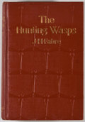 Books:Natural History Books & Prints, J. Henri Fabre. The Hunting Wasps. New York: Dodd, Mead, 1919. Later impression. Small octavo. 427 pages. Publisher'...