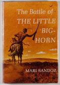 Books:Americana & American History, Mari Sandoz. The Battle of the Little Big Horn.Philadelphia: Lippincott, [1966]. First edition, first printing.Oct...