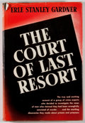 Books:Mystery & Detective Fiction, Erle Stanley Gardner. The Court of Last Resort. New York:Sloane, [1952]. First edition, first printing. Octavo....