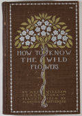 Books:Natural History Books & Prints, Mrs. William Starr Dana. How to Know the Wild Flowers. New York: Charles Scribner's Sons, 1895. Revised and enla...