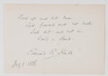 Autographs:Authors, Edward Everett Hale Quotation Signed....