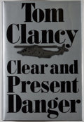Books:Signed Editions, Tom Clancy. SIGNED/LIMITED. Clear and Present Danger. NewYork: Putnam, [1989]. First edition, first printing, lim...