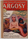 Books:Pulps, Argosy. Volume 216. No. 2. New York: Munsey, 1930. Firstedition. Octavo. 288 pages. Publisher's wrappers with light...
