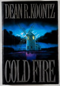 Books:Horror & Supernatural, Dean R. Koontz. INSCRIBED. Cold Fire. New York: Putnam's,[1991]. First edition, first printing. Warm, lengthy...