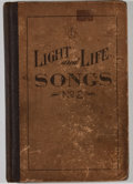 Books:Music & Sheet Music, William B. Olmstead [editor]. Light and Life Songs, NumberTwo. Chicago: W. B. Rose, [1914]. Twenty-five thousan...