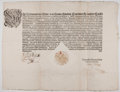 Antiques:Posters & Prints, [Charles VI, Holy Roman Emperor, King of Hungary, and King of Bohemia]. Printed Edict. One page, 22 inches x 17.75 inches, V...