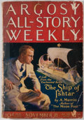 Books:Pulps, Argosy All-Story Weekly. Volume CLXIV. No. 3. New York:Munsey, 1924. First edition. Octavo. Publisher's wrappers wi...