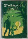 """Books:Science Fiction & Fantasy, Robert A. Heinlein. Starman Jones. New York: Scribner's Sons, [1953]. First edition, with """"A"""" and seal, and $2.5..."""