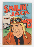 Golden Age (1938-1955):Adventure, Four Color #36 Smilin' Jack (Dell, 1944) Condition: Average FN/VF....