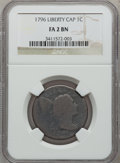 Large Cents: , 1796 1C Liberty Cap Fair 2 NGC Details. NGC Census: (6/85). PCGSPopulation (7/153). Mintage: 109,825. (#1392)...