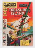 Golden Age (1938-1955):Classics Illustrated, Classics Illustrated #64 Treasure Island - First Edition(Gilberton, 1949) Condition: VG/FN....