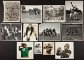 Football Collectibles:Photos, 1950's Notre Dame and Navy Football Signed and Unsigned PhotographLot....
