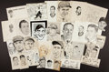 Baseball Collectibles:Others, Sporting News Archive Original Artwork Featuring 60+....