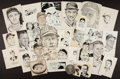 Baseball Collectibles:Others, Sporting News Archive Original Artwork Featuring 60+.. ...