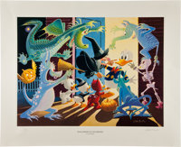Carl Barks Halloween in Duckburg Regular Edition Lithograph #PP/20 (Another Rainbow, 1992).... (Total: 3 Items)