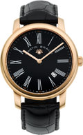 Timepieces:Wristwatch, Martin Braun Classic B Rose Gold Plate Automatic. ...