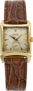 Timepieces:Wristwatch, Rolex 3/4 Size Gold Perpetual Automatic Super Precision, circa1955. ...