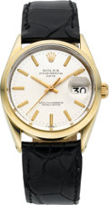 Timepieces:Wristwatch, Rolex Ref. 1550 Gold Top Oyster Perpetual Date, circa 1977. ...