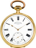 Timepieces:Pocket (post 1900), Vacheron & Constantin 18k Gold Chronometre Royal, circa 1915. ...