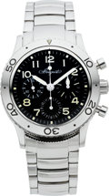 Timepieces:Wristwatch, Breguet Type XX Aeronavale Automatic Steel Fly Back Chronograph. ...