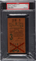 Baseball Collectibles:Tickets, 1920 World Series Game Six Ticket Stub, PSA VG 3....