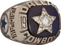 """Football Collectibles:Others, 1975 Scott Laidlaw Dallas Cowboys """"Balfour"""" NFC Championship Player's Ring...."""