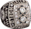Football Collectibles:Others, 1978 Scott Laidlaw Dallas Cowboys Super Bowl XII Player's Championship Ring....