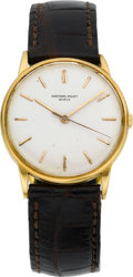 Timepieces:Wristwatch, Audemars Piguet Vintage Center Seconds Gold Wristwatch, circa 1950....