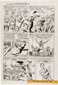 "Original Comic Art:Panel Pages, Jack Kirby and Dick Ayers Journey Into Mystery #88 ""TheVengeance of Loki"" page 10 Original Art (Marvel, 1..."