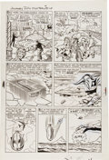 "Original Comic Art:Panel Pages, Jack Kirby and Dick Ayers Journey Into Mystery #88 ""TheVengeance of Loki"" page 9 Original Art (Marvel, 19..."