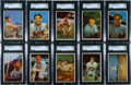 Baseball Cards:Sets, 1953 Bowman Color Baseball Partial Set (113/160) - First Time BeingOffered. ...