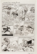"Original Comic Art:Panel Pages, Jack Kirby and Dick Ayers Journey Into Mystery #88 ""TheVengeance of Loki"" page 12 Original Art (Marvel, 1..."