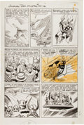 "Original Comic Art:Panel Pages, Jack Kirby and Dick Ayers Journey Into Mystery #88 ""TheVengeance of Loki"" page 13 Original Art (Marvel, 1..."