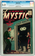 Golden Age (1938-1955):Science Fiction, Mystic #61 (Atlas, 1957) CGC FN 6.0 Cream to off-white pages....