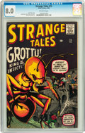 Silver Age (1956-1969):Horror, Strange Tales #73 (Marvel, 1960) CGC VF 8.0 Off-white pages....