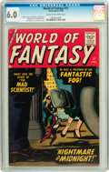 Golden Age (1938-1955):Science Fiction, World of Fantasy #11 (Atlas, 1958) CGC FN 6.0 Cream to off-whitepages....