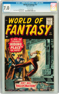Silver Age (1956-1969):Horror, World of Fantasy #12 (Atlas, 1958) CGC FN/VF 7.0 Off-whitepages....